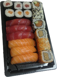 Foto SALMON & TUNA SET (18st)